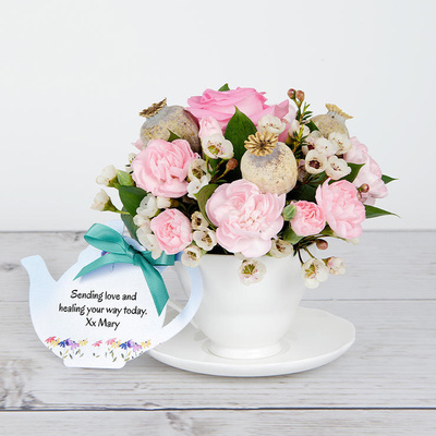 Floral Hug - Flower Cards