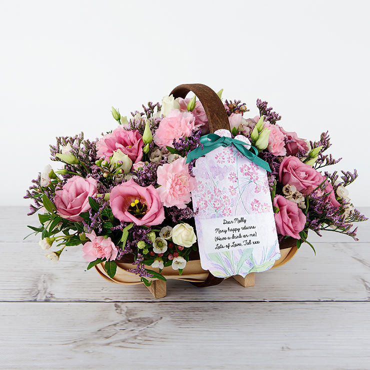Happy Returns - Flower Cards