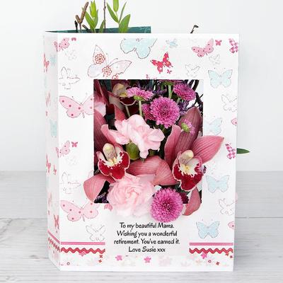 Fluttering Orchid - Flower Cards