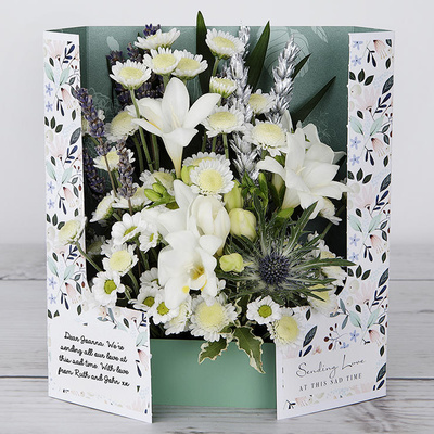 Cloud of Freesias - Flower Cards