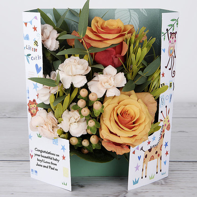 Little Monkey! - Flower Cards