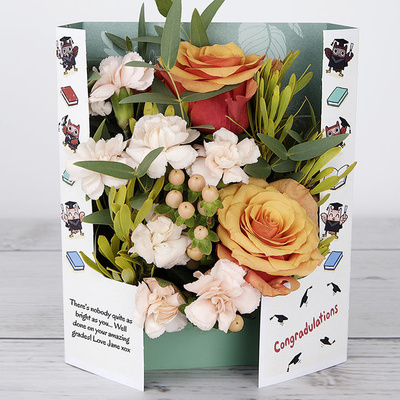 Congratulations! - Flower Cards