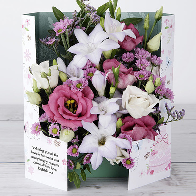The Big Day - Flower Cards