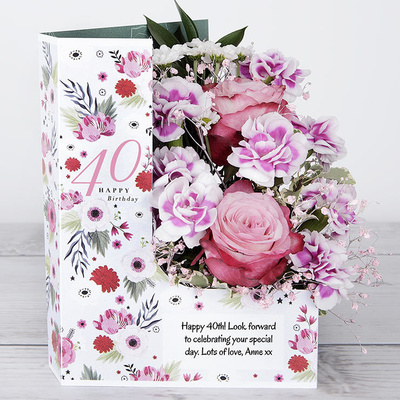 Pink Party - Flower Cards