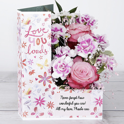 Love You Loads - Flower Cards
