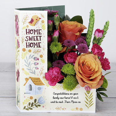 Home Sweet Home - Flower Cards