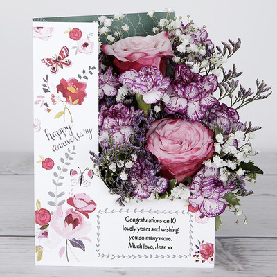 Anniversary Dance - Flower Cards