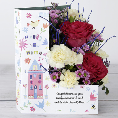 Happy New Home! - Flower Cards