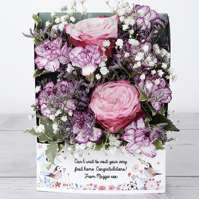Our New Nest - Flower Cards