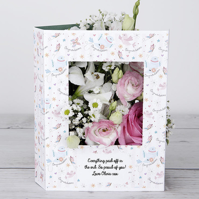 Celebration Hugs - Flower Cards