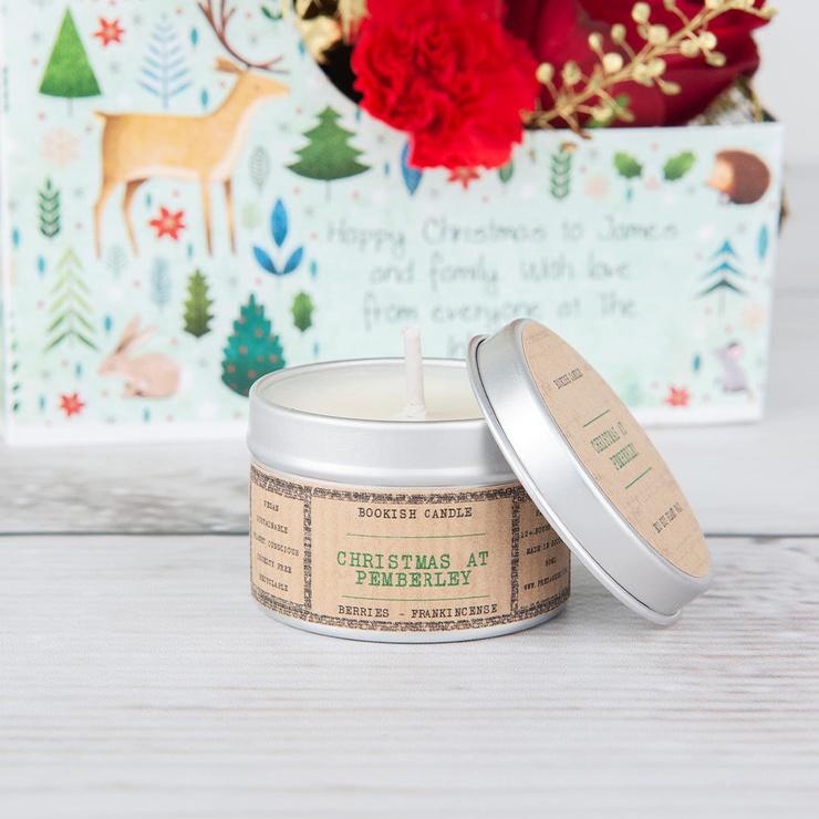 Christmas Pemberley Candle