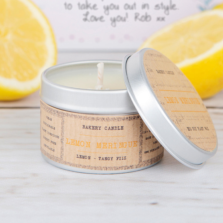 Lemon Meringue scented candle