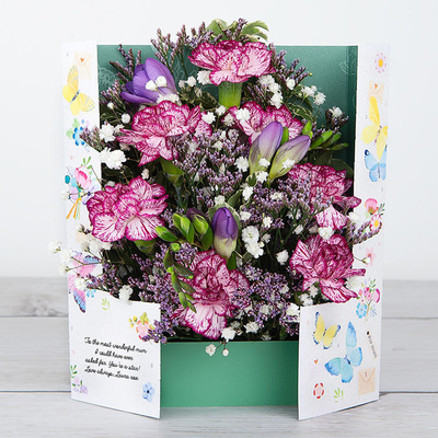 Butterfly Hug - Flower Cards