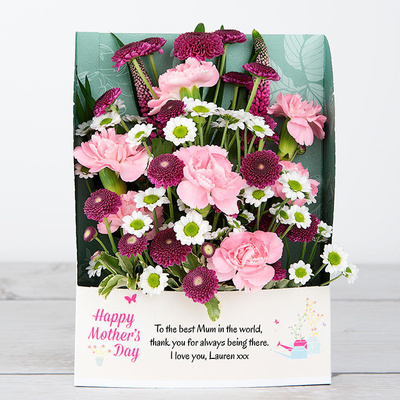 Rose-Tinted Mother's Day - Flower Cards