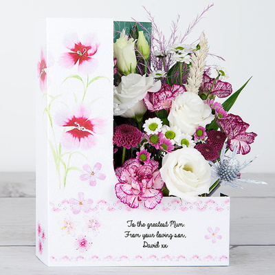 Wonderful Mum - Flower Cards
