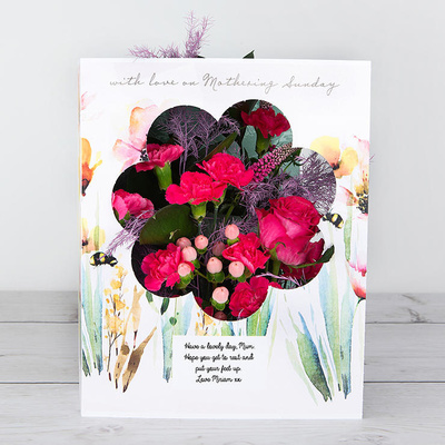 Hap-Bee Mother's Day - Flower Cards