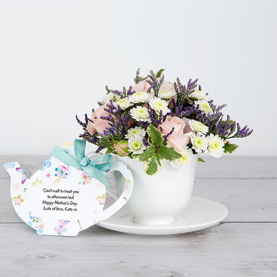 Afternoon Tea - Flower Cards