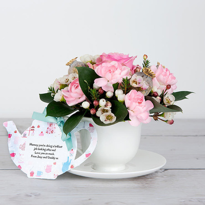 Mum's Floral Fancies - Flower Cards