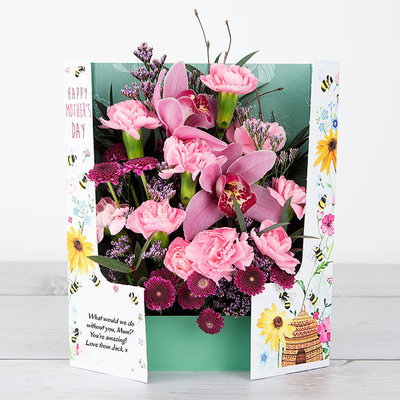 Busy-Bee Mum - Flower Cards