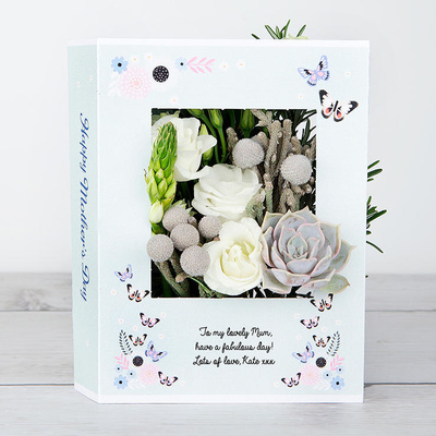 Butterflies for Mum - Flower Cards