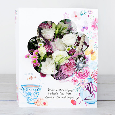 A Stroll With Mum - Flower Cards