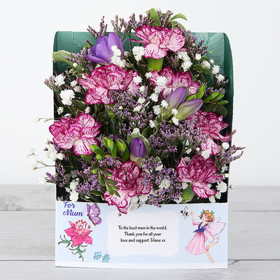 Fairy's Freesias - Flower Cards