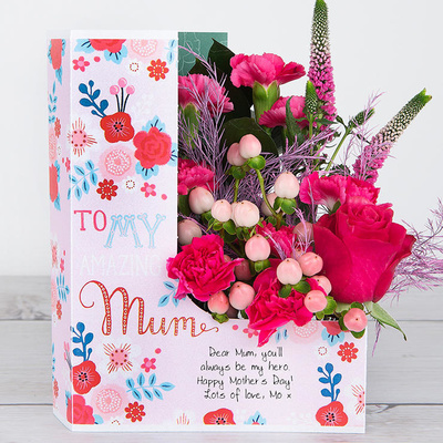 Posy For Mum - Flower Cards