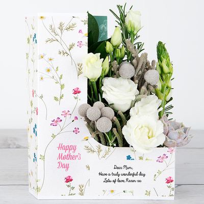 Mother's Pearl Petals - Flower Cards