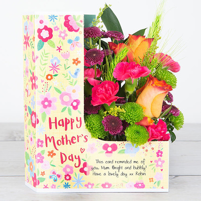 Mother's Cheer - Flower Cards