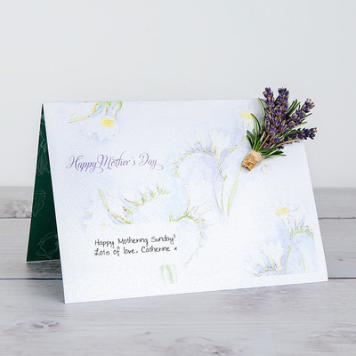 Scent for Mother's Day - Flower Cards