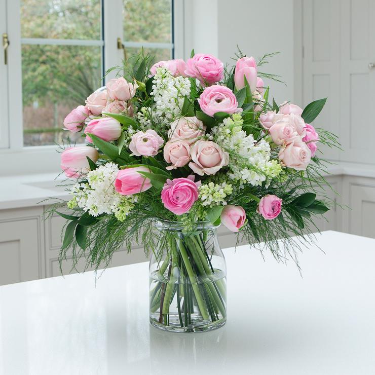 Pink Birthday Petals - Birthday