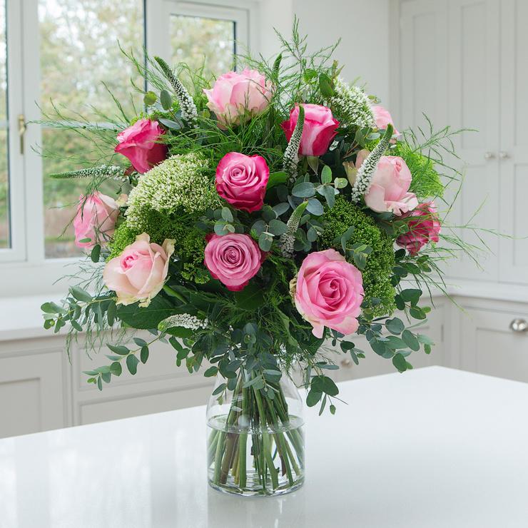 Pink Rose Blush - Birthday