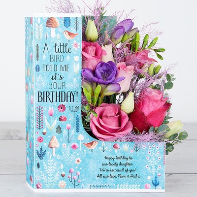 Birthday Rose - Flower Cards