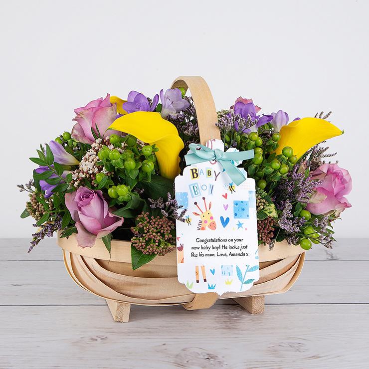Sweetest Boy - Flower Cards