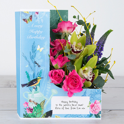 Tropical Birthday - Flower Cards