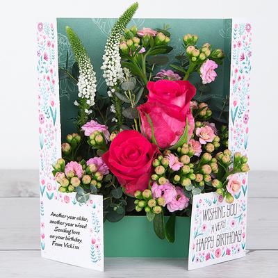 Birthday Cheer - Flower Cards