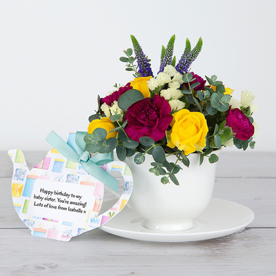Birthday Ruffles - Flower Cards