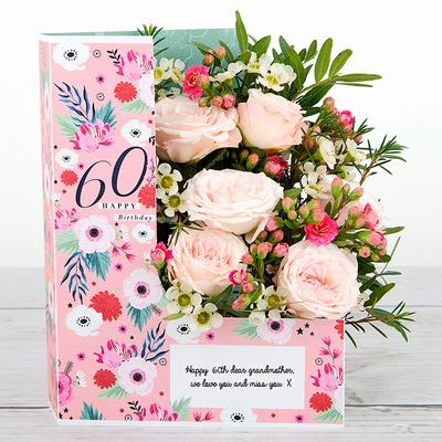 Still Sweet at 60 - Flower Cards