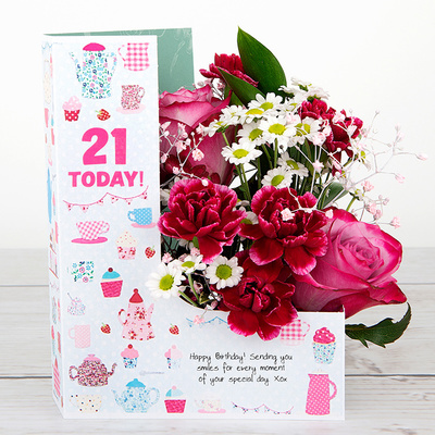 The Birthday Bunch - Flower Cards