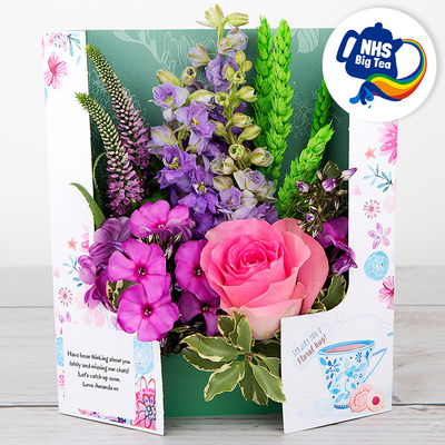 Tea & Chat! - Flower Cards