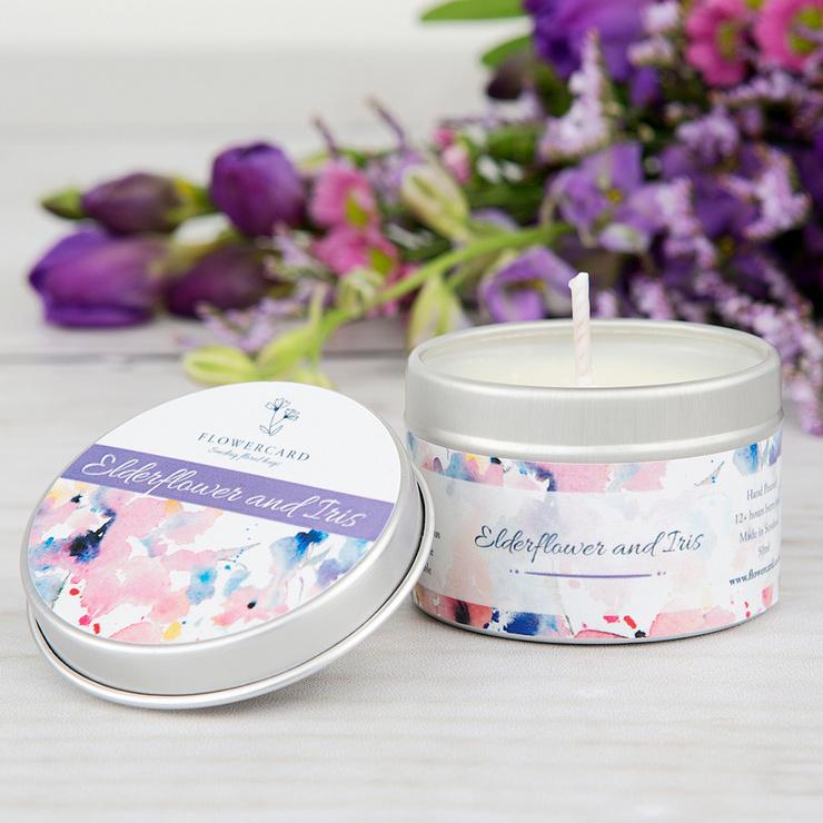 Elderflower & Iris Candle