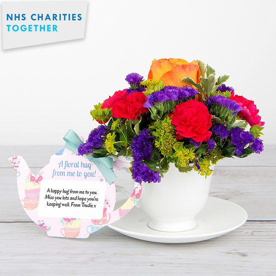 Happy Hugs - Flower Cards