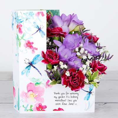 Dragonfly Dance - Flower Cards