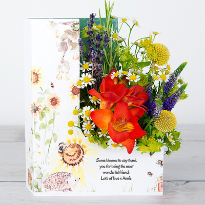 Our Fuzzy Friends - Flower Cards