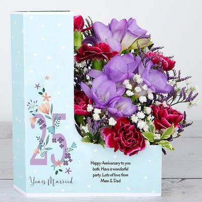 Precious Silver - Flower Cards