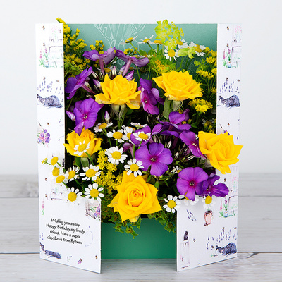 Time to Bee - Flower Cards