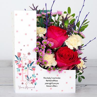 Ruby Romance - Flower Cards