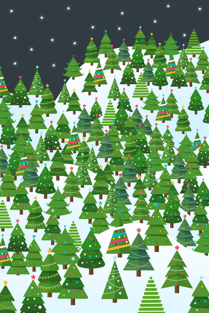 The Grinch Christmas Tree.Can You Find The Grinch Hidden Amongst The Xmas Trees