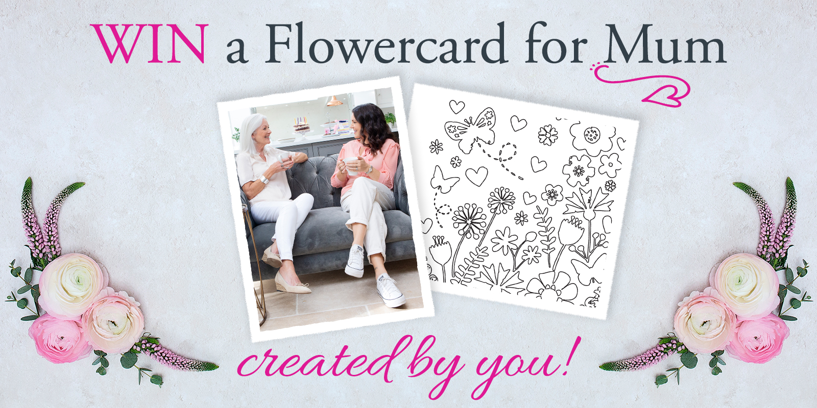 Win a Flowercard for Mum